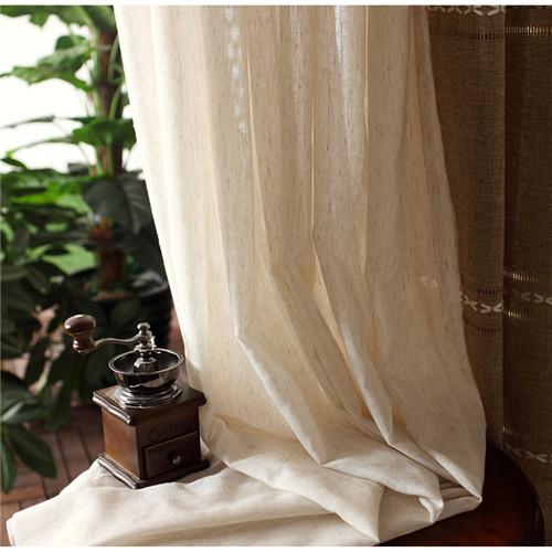 ナチュラルな和風レースカーテン