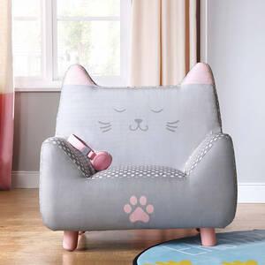 かわいいネコ形のソファー