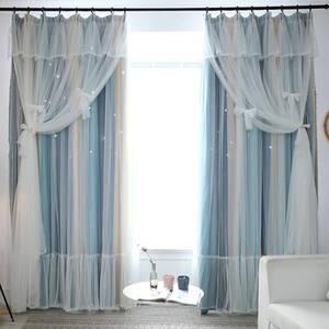 ロマンな姫系一体型カーテン