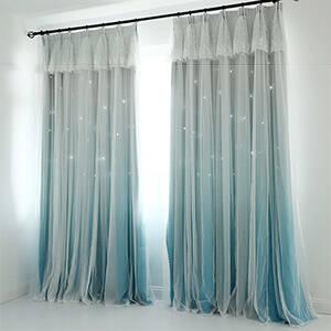 姫系一体型カーテン