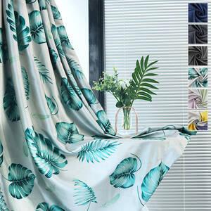 北欧風1-2級遮光カーテン、レースカーテン付きセット